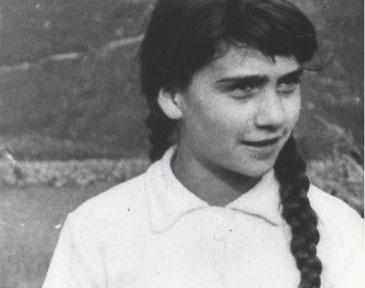Conchita mit 12 Jahren.