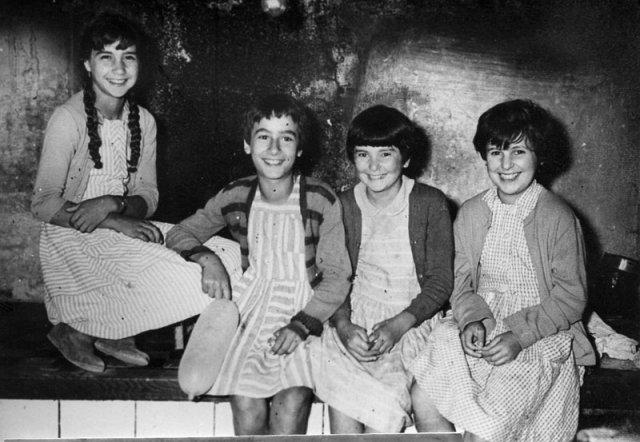 Die vier Mädchen.
